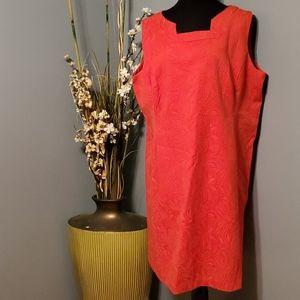Jones Studio Boat Neck Sleeveless Dress size 20W